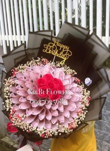 hoa tiền 50k