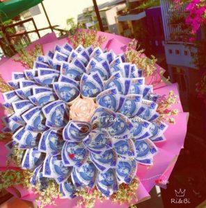Hoa tiền 5k hồng